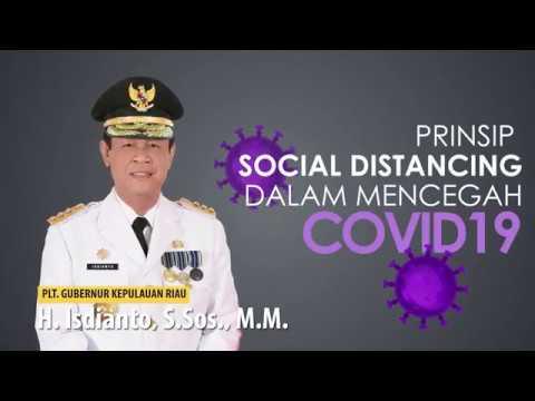 PRINSIP SOCIAL DISTANCING MENCEGAH PENULARAN COVID-19