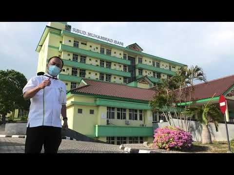 Penyerahan APD dan Uang Bantuan Percepatan Penanganan Covid19 di Kabupaten Karimun