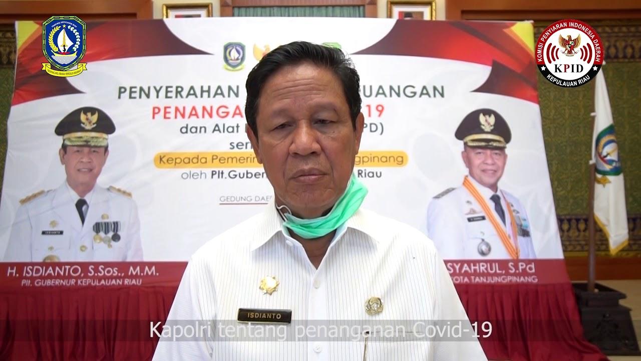Himbauan dari Plt. Gubernur Kepulauan Riau